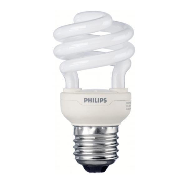 Philips Tornado 12W=60W Tornado CFL Low Energy Light Bulb ...